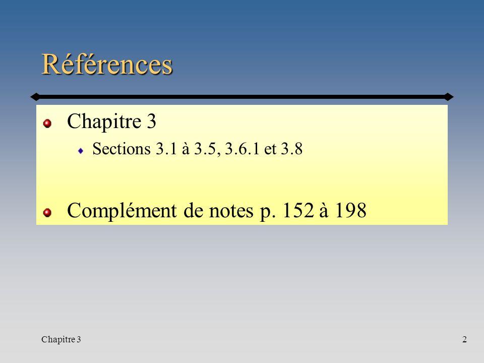 Chapitre 33 Contenu Notion de taux dintérêt nominal et calcul des taux effectifs Flux non-conventionnels Flux en début de période et continu Taux dintérêt variable Capital et intérêt Obligations