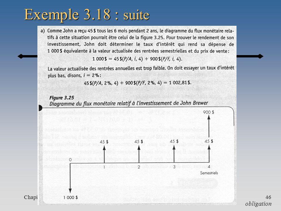 Chapitre 346 Exemple 3.18 : suite obligation