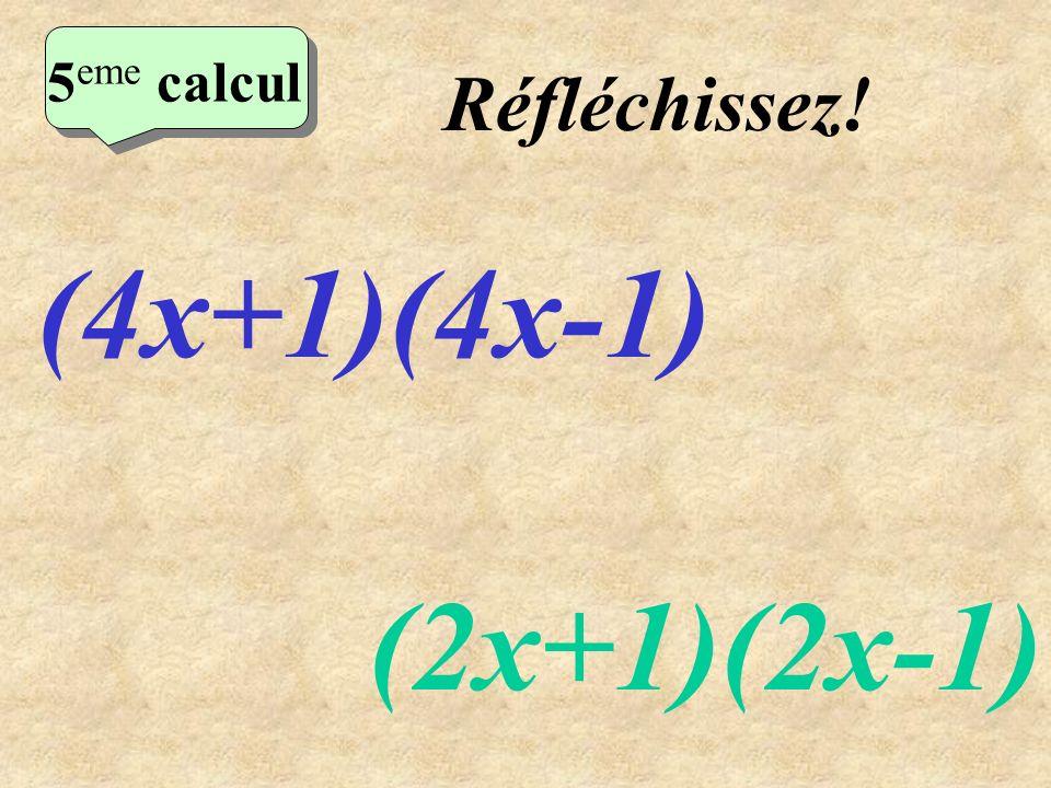 Ecrivez! 4 eme calcul 4 eme calcul 4 eme calcul (2x+3)² (3x-2)²