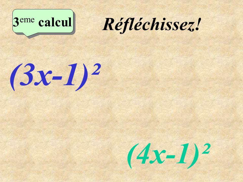 Ecrivez! 2 eme calcul 2 eme calcul 2 eme calcul 2 eme calcul (x+6)² (x+5)(x-5)