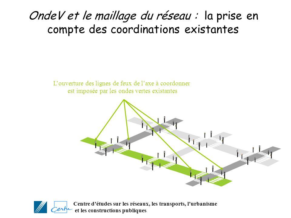 Centre détudes sur les réseaux, les transports, lurbanisme et les constructions publiques OndeV et le maillage du réseau : la prise en compte des coor