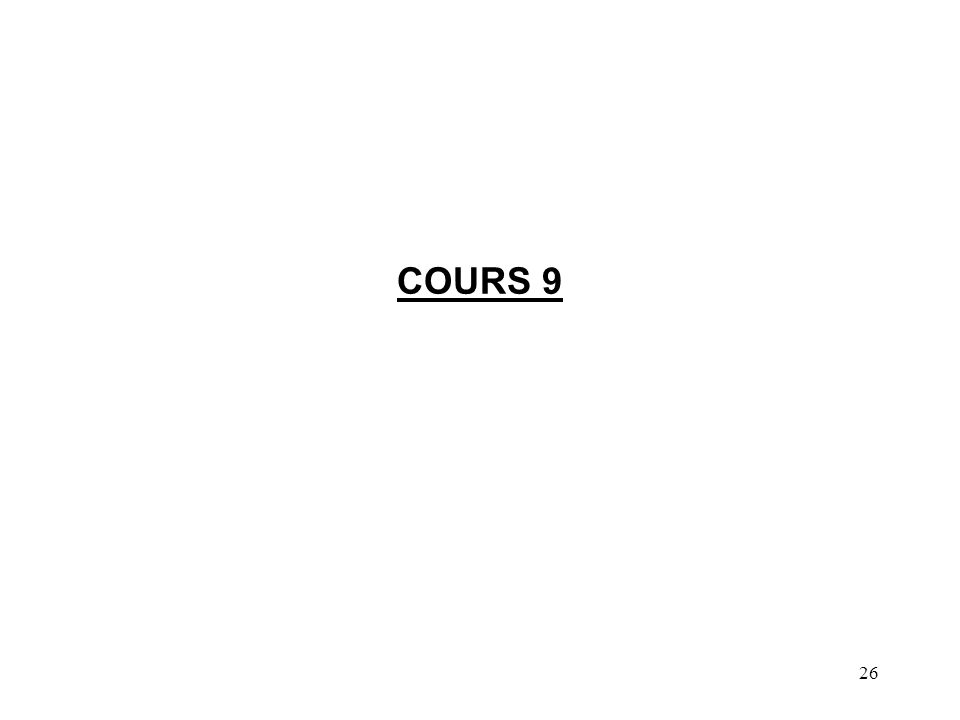 26 COURS 9