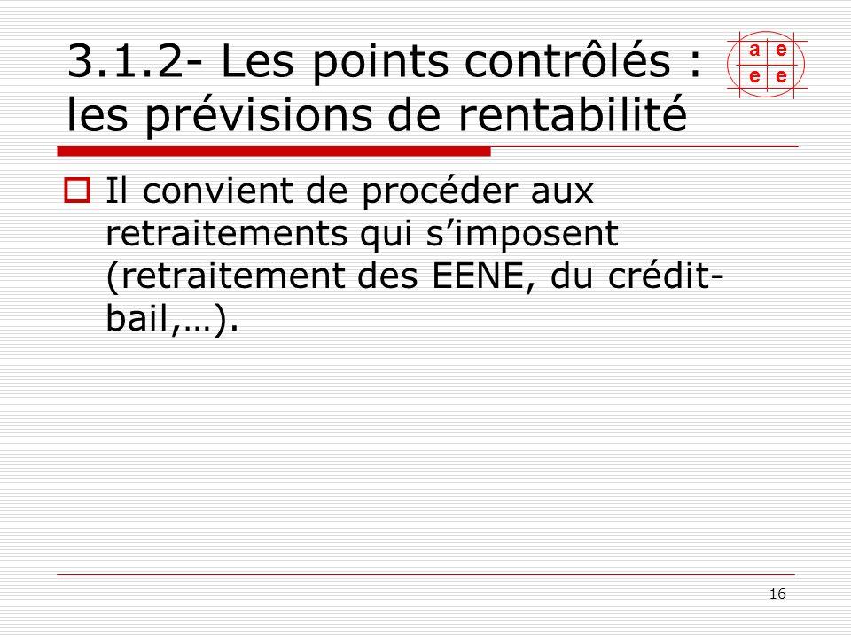 ae ee 17 Linvestissement : investissement normatif ou investissement réel .