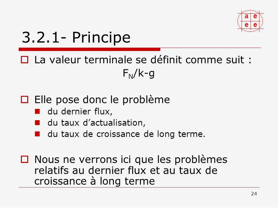 ae ee 25 3.2.2- Le dernier flux Il dépend des flux de rentabilité, dexploitation, et de linvestissement.