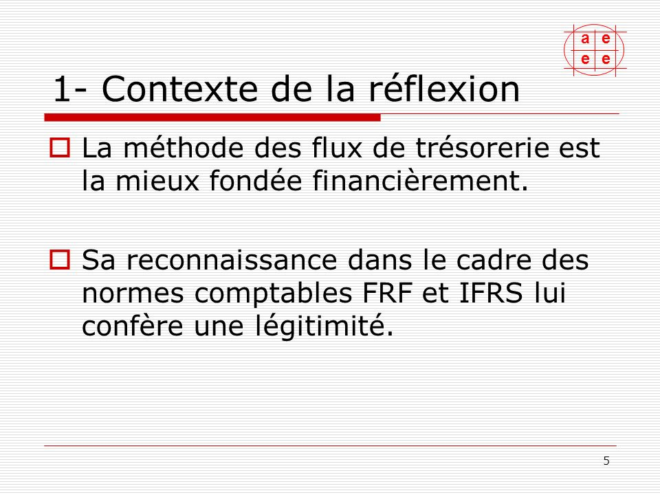 ae ee 6 1-Contexte de la réflexion Si les principes sont clairs, la mise en œuvre soulève des difficultés et des divergences de pratiques sur lesquelles lA3E a voulu apporter son éclairage.