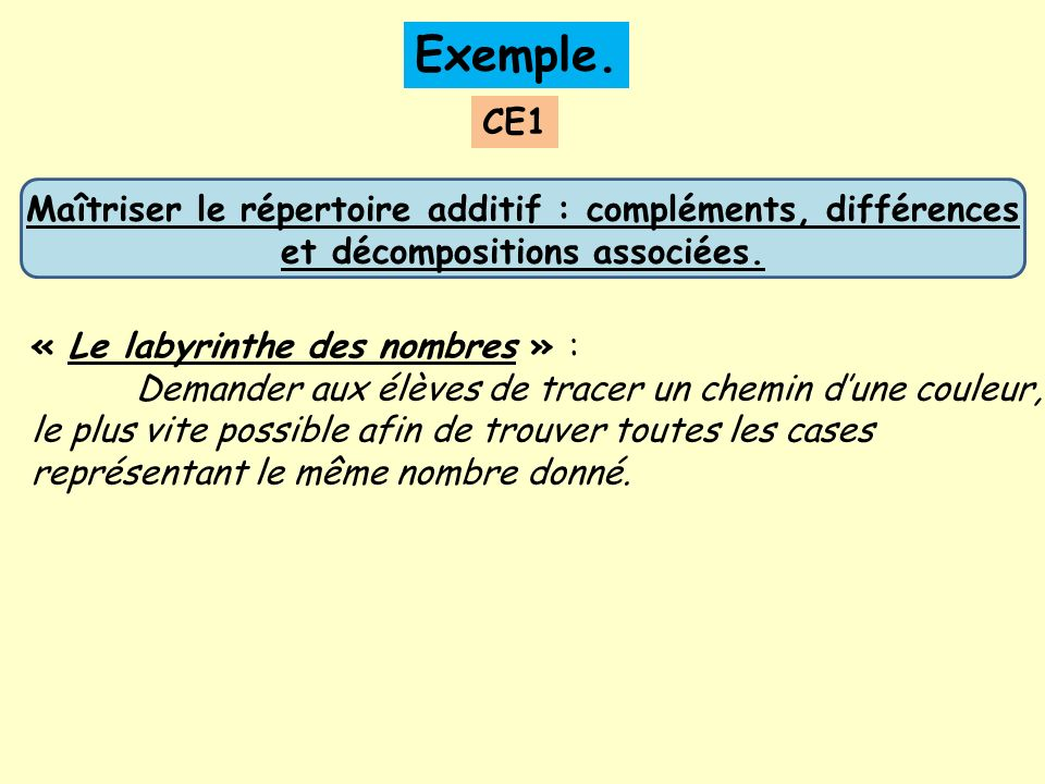 Exemple.
