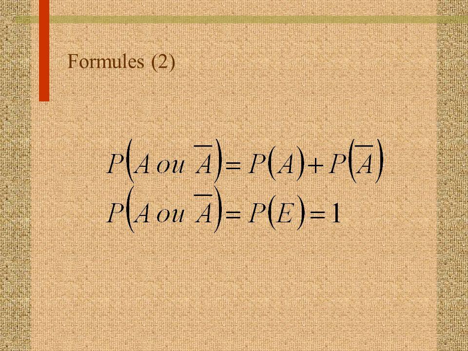 Formules (2)