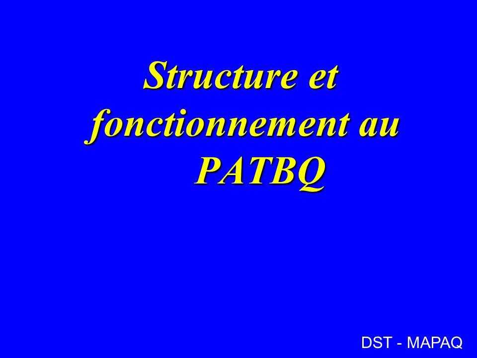 Structure et fonctionnement au PATBQ DST - MAPAQ