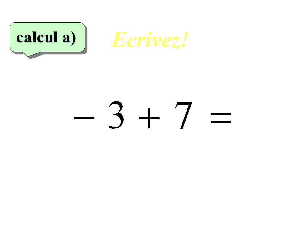 Ecrivez! 6 eme calcul 6 eme calcul calcul f)
