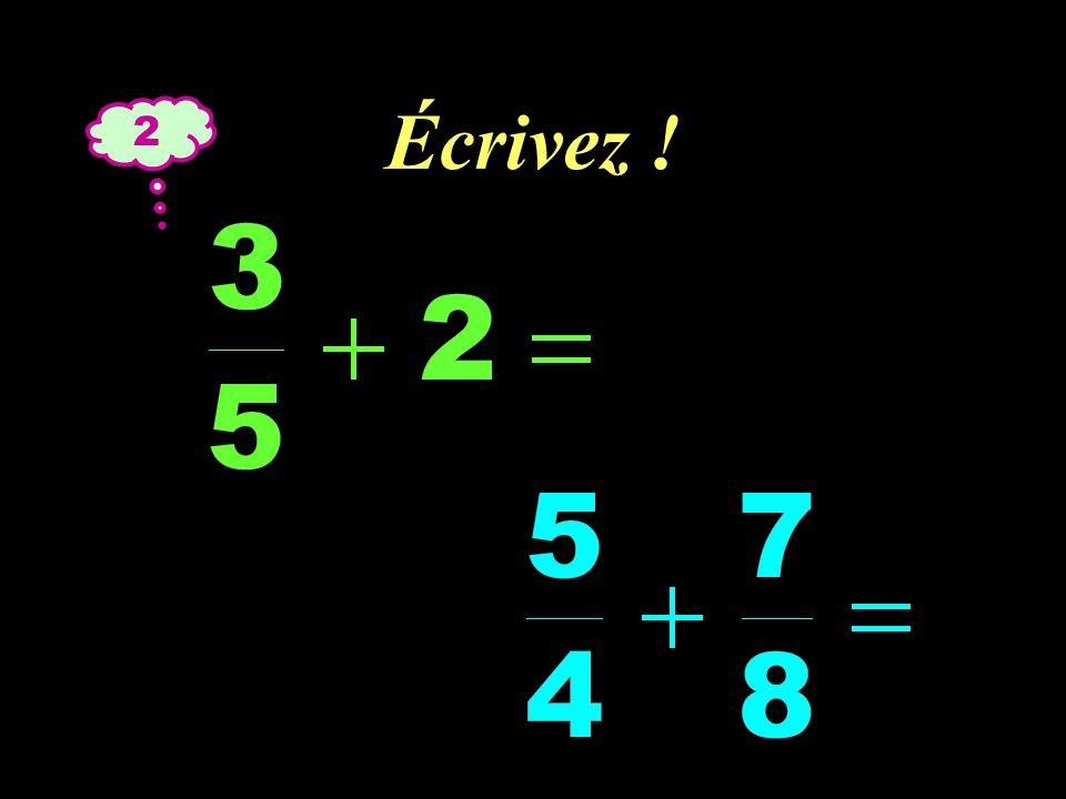 –1–1 Réfléchissez ! 2