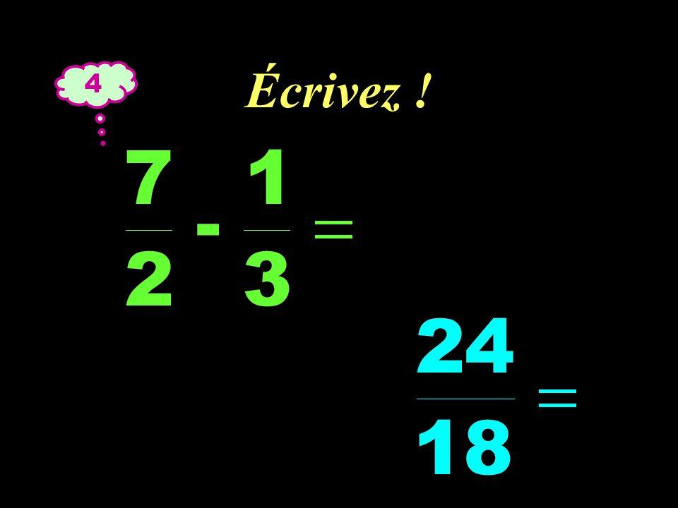 –1–1 Réfléchissez ! 4