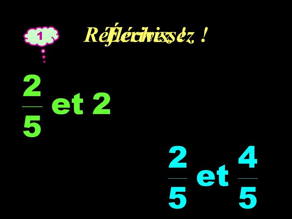 Réfléchissez ! 3 Écrivez ! = =