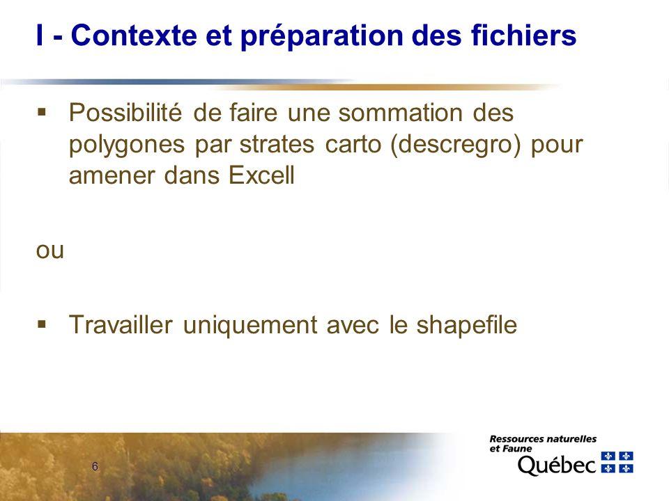 37 Critères Densité du couvert Vigueur Concentration pour retour et chablis Lien avec zones CPI CP CPI RL 3 int.