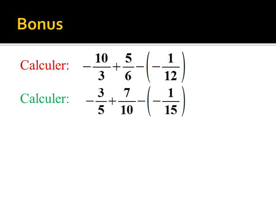 Calculer