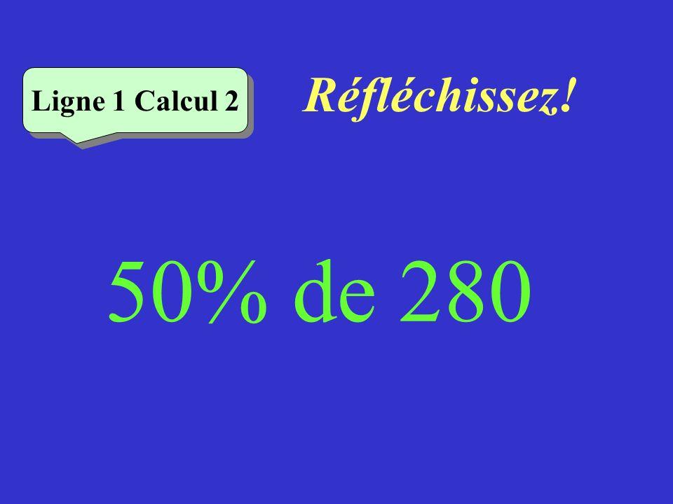 Vérifiez Ligne 1 Calcul 1 10% de 180 = 18