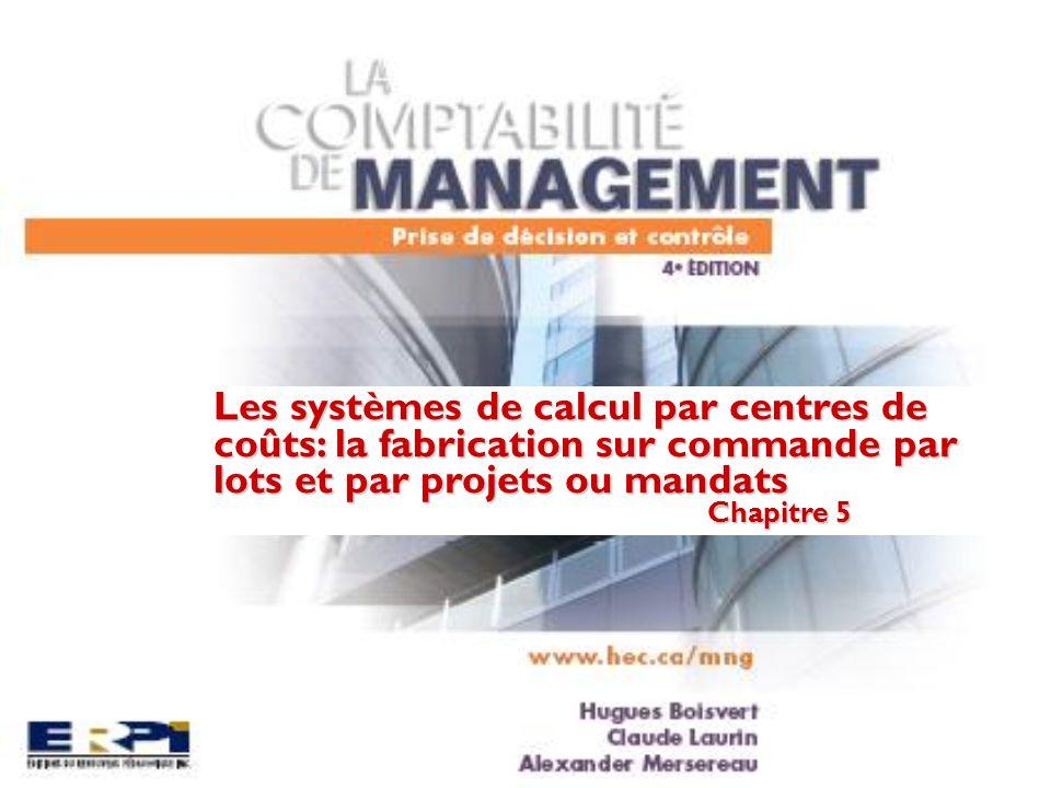 Les types de systèmes de coûts de revient Fabrication en série Fabrication sur commande Une entreprise fabrique plusieurs unités dun ou de plusieurs produits.