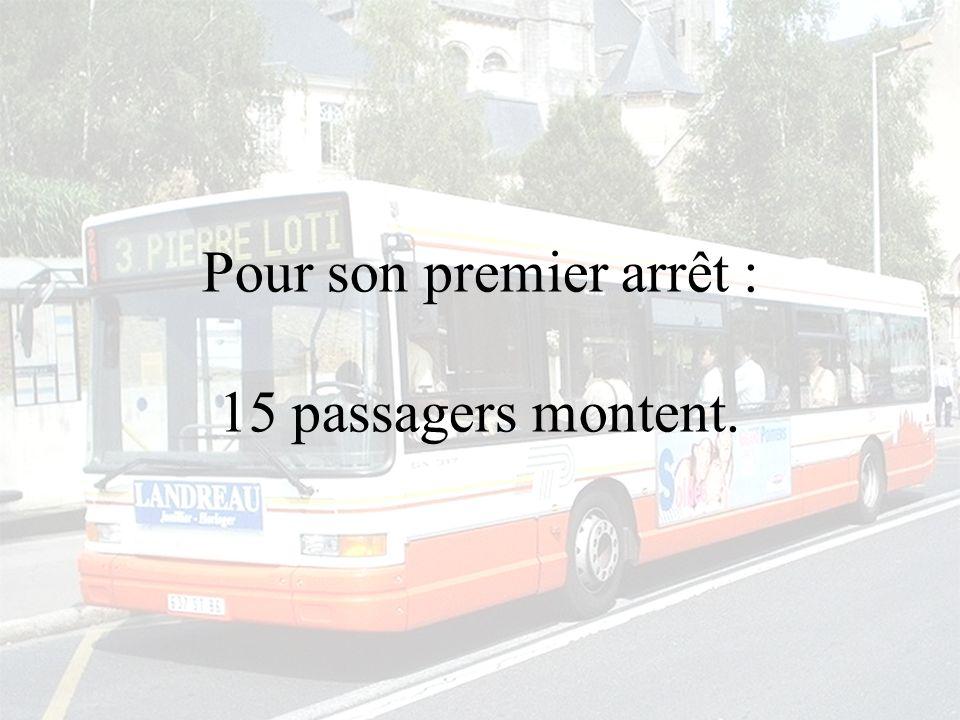 Un bus part pour sa tournée habituelle à vide.
