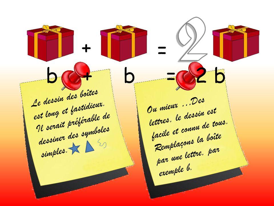 + = L e d e s s i n d e s b o î t e s e s t l o n g e t f a s t i d i e u x. I l s e r a i t p r é f é r a b l e d e d e s s i n e r d e s s y m b o l