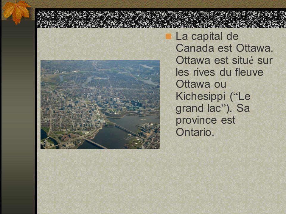La capital de Canada est Ottawa.