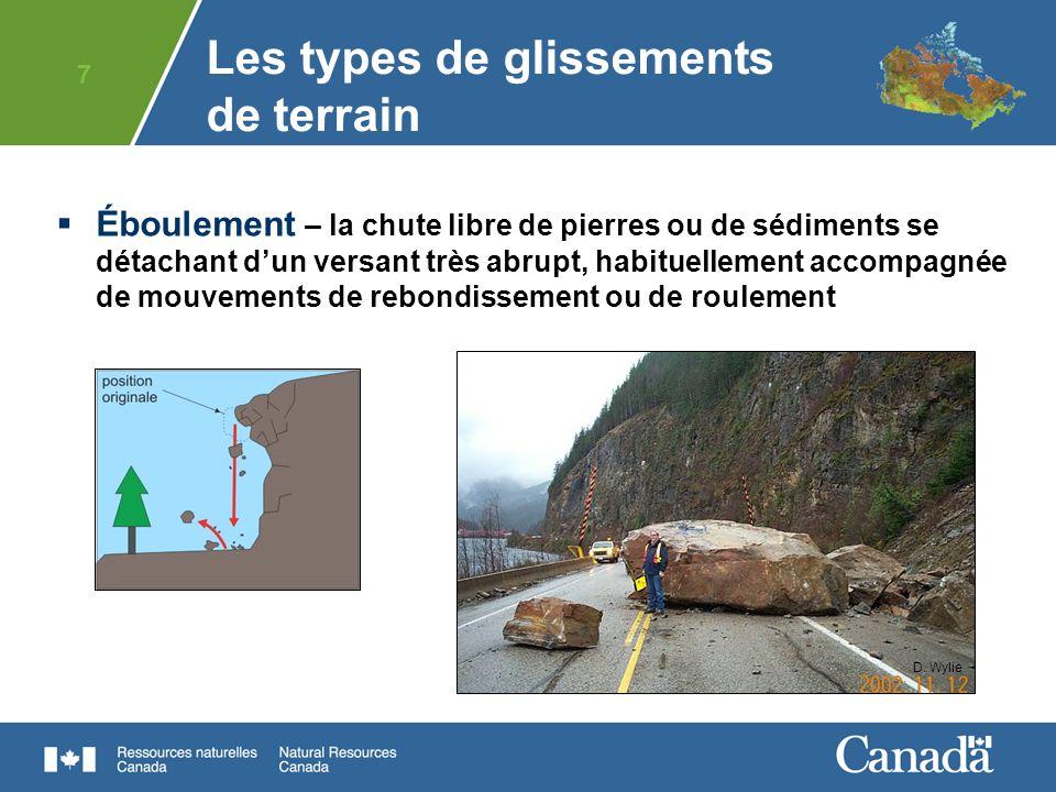 28 Les glissements de terrain sont naturels mais les risques peuvent être atténués.