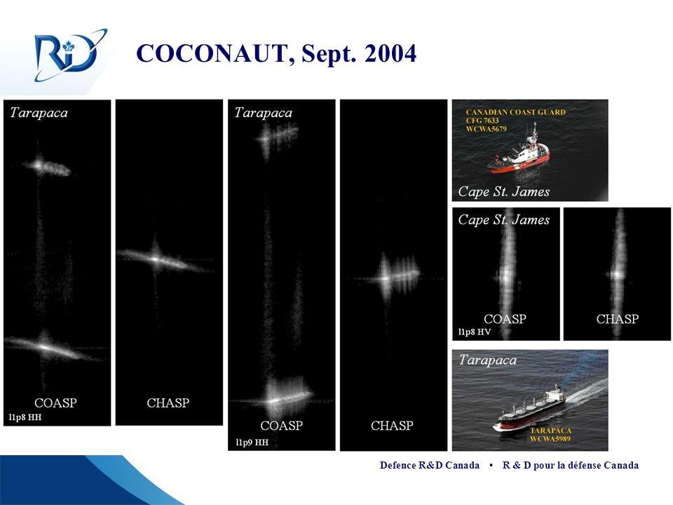 COCONAUT, Sept. 2004