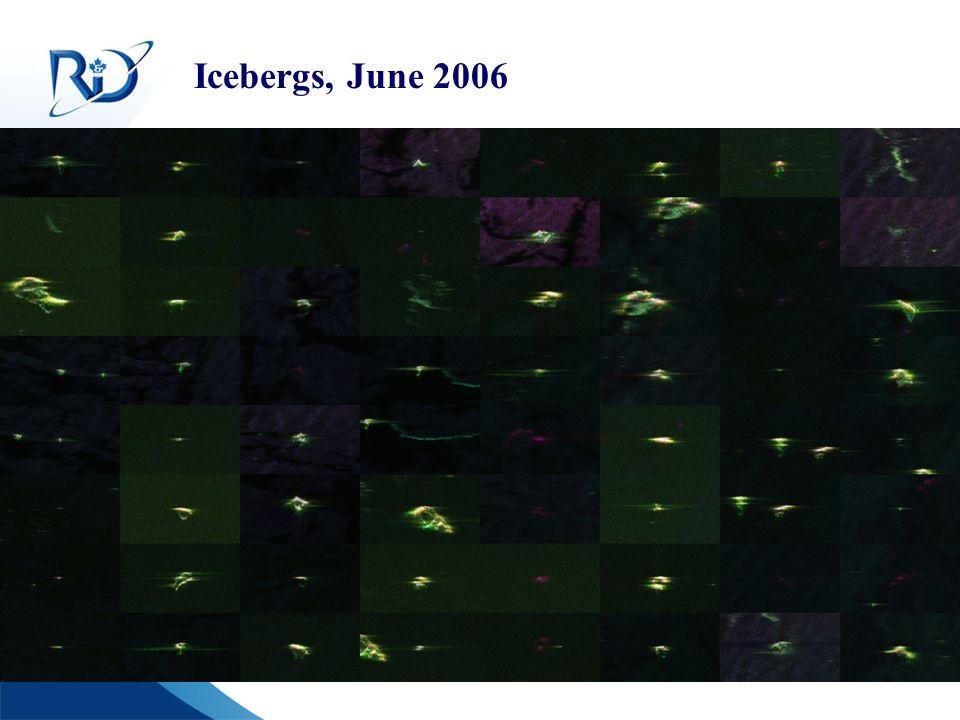 Defence R&D Canada R & D pour la défense Canada Icebergs, June 2006