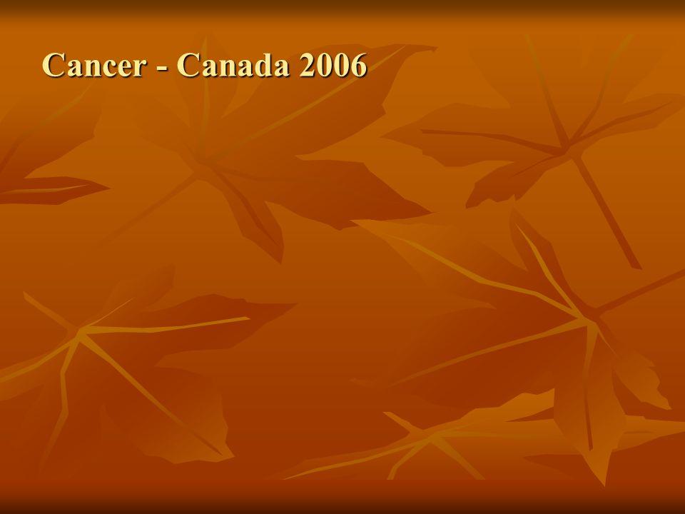 Cancer - Canada 2006