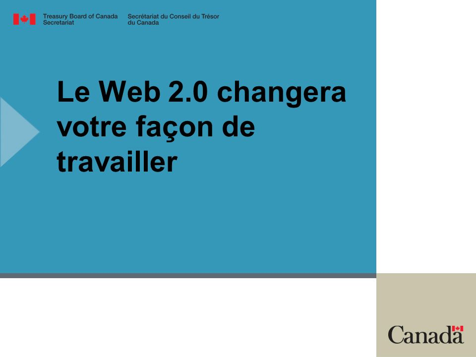 Le Web 2.0 changera votre façon de travailler