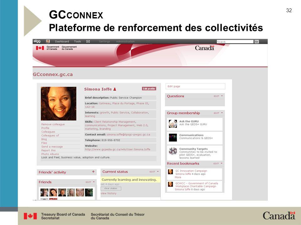 32 GC CONNEX Plateforme de renforcement des collectivités