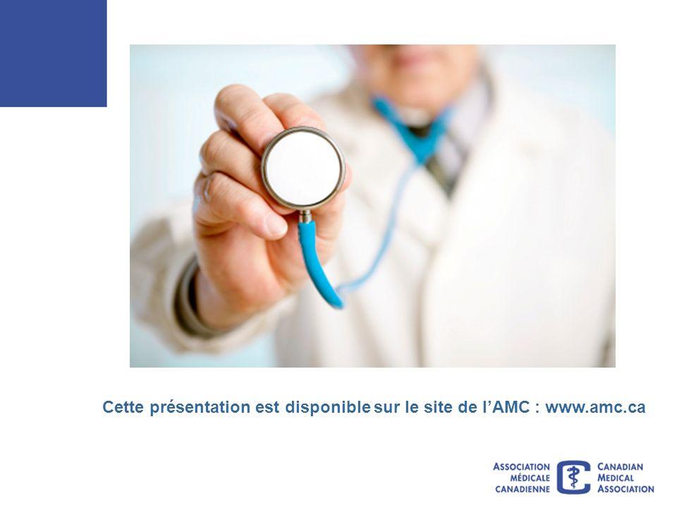 Cette présentation est disponible sur le site de lAMC : www.amc.ca