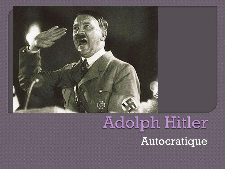 Autocratique