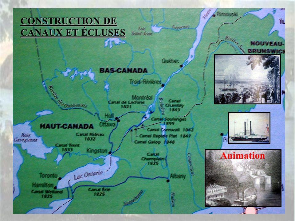 CONSTRUCTION DE CANAUX ET ÉCLUSES Animation