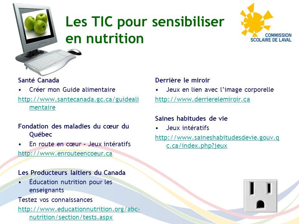 Les producteurs laitiers du Canada Pour sinformer et commander du matériel déducation en nutrition.