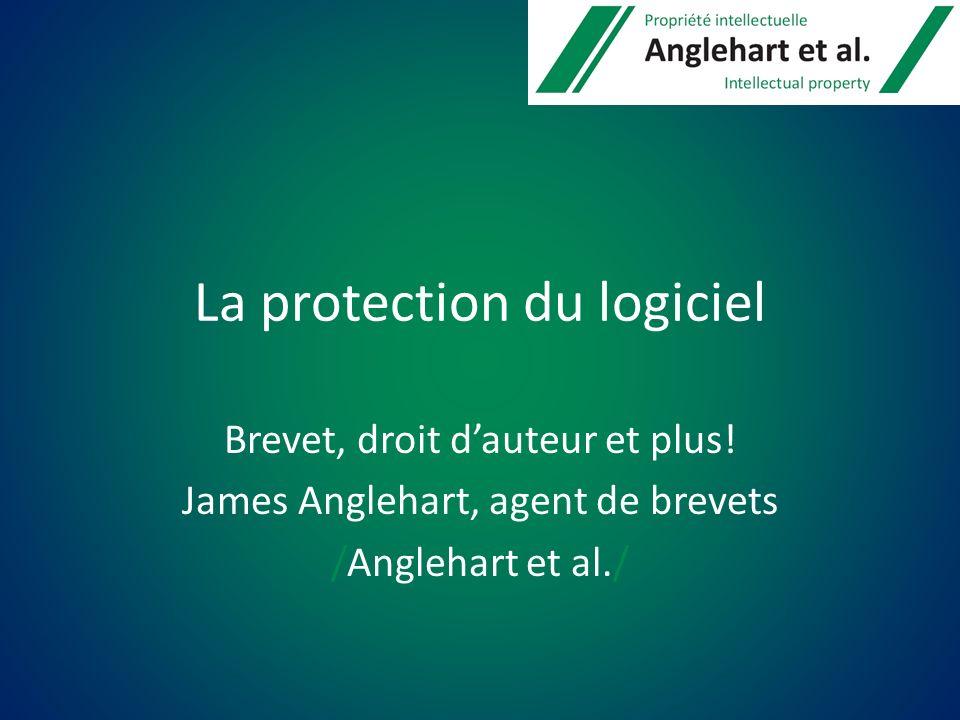 La protection du logiciel Brevet, droit dauteur et plus.