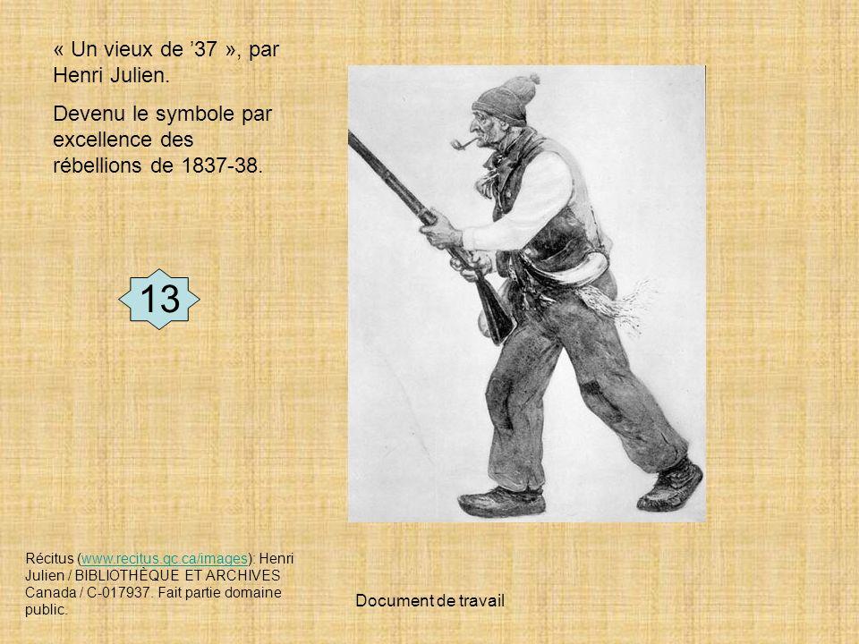 Document de travail Récitus (www.recitus.qc.ca/images): Henri Julien / BIBLIOTHÈQUE ET ARCHIVES Canada / C-017937.