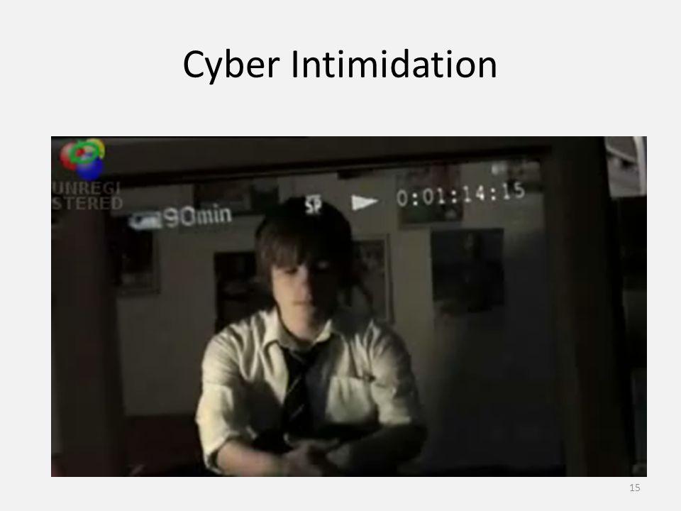 Cyber Intimidation 15