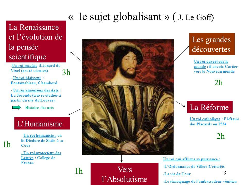 Marianne Bouzigues - Nouveaux Programmes 5° 6 La Renaissance et lévolution de la pensée scientifique La Réforme Les grandes découvertes LHumanisme Ver