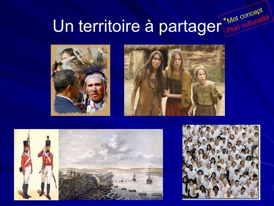 Un territoire à partager * Mot concept Pluri culturalité