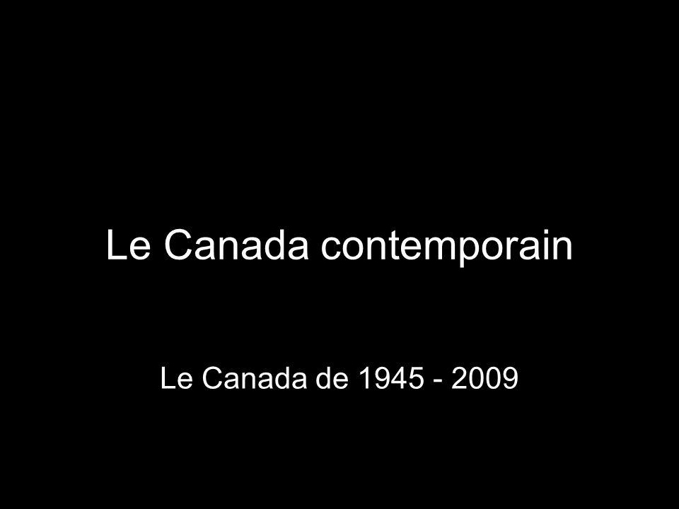 1957 Subventions de péréquation aux provinces (equalizations payments) Le Conseil des arts du Canada –Encourager et soutenir les artistes, les érudits, les musiciens et les écrivains