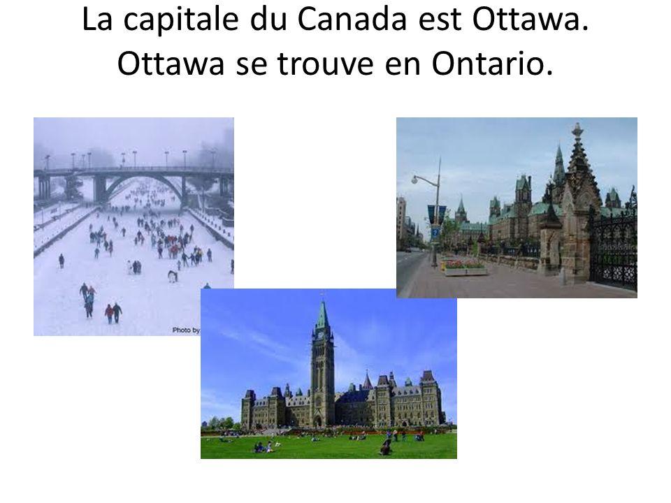 Quelles sont les capitales du Manitoba? de lOntario? du Nouveau-Brunswick?