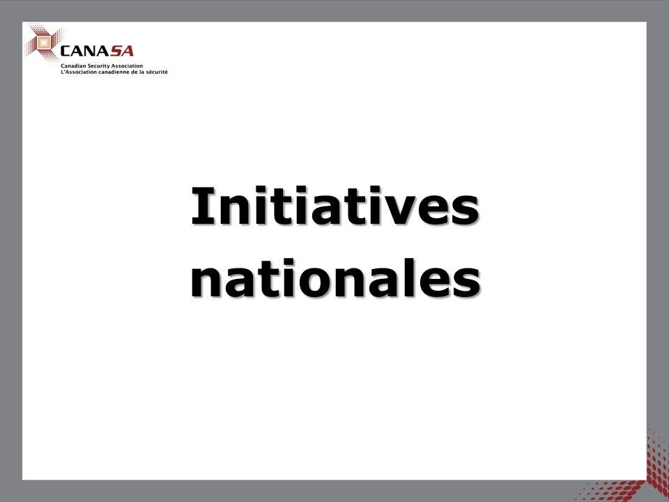 Programme Entrepreneur en sécurité agréé canadien (ESAC) Le programme ESAC, lancé en 2012, continue daccroître le nombre dentreprises agréées.