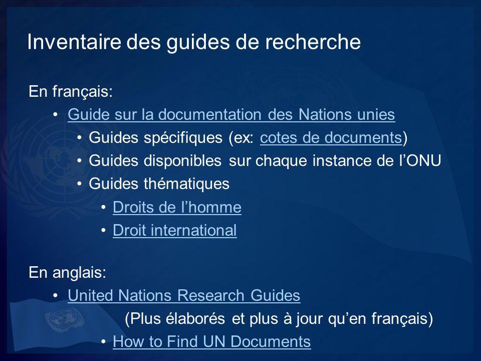 Exemple de recherche Question: Un usager est intéressé à connaître lhistorique de la déclaration des droits sur les peuples autochtones et la position du Canada sur le sujet.