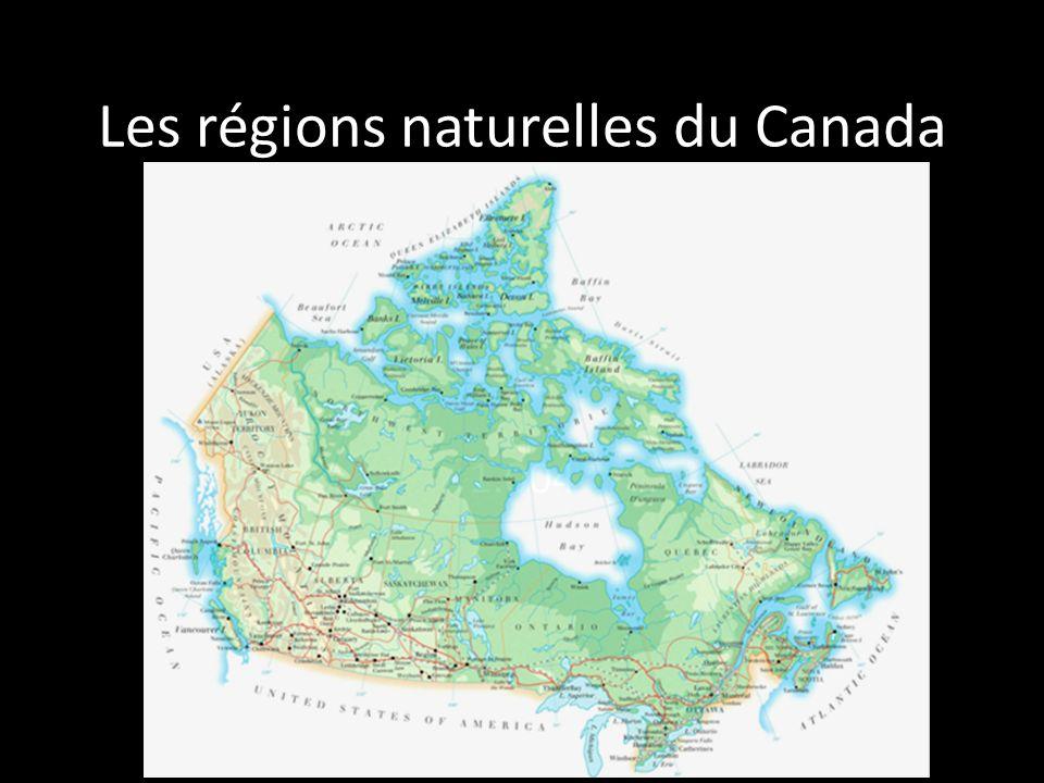 Les régions naturelles du Canada 1.004