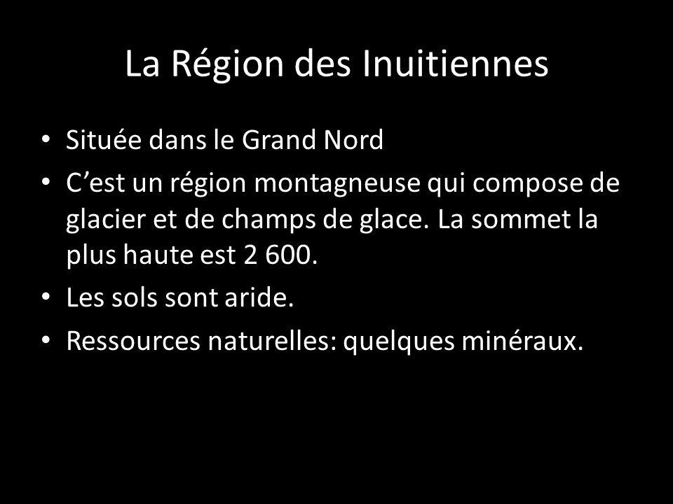 Située dans le Grand Nord Cest un région montagneuse qui compose de glacier et de champs de glace. La sommet la plus haute est 2 600. Les sols sont ar