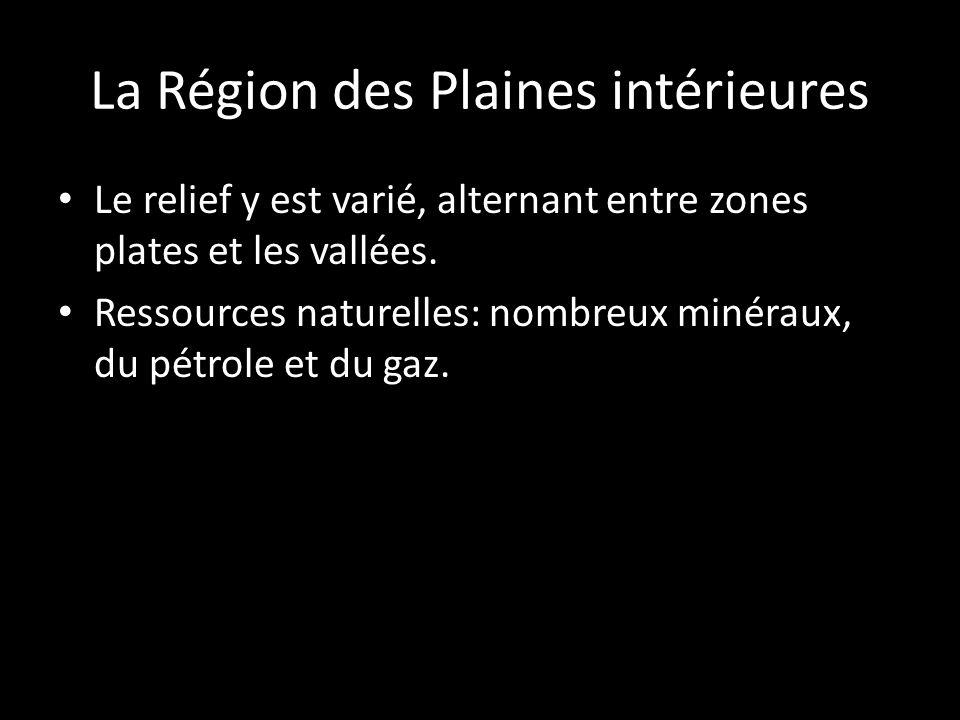 Le relief y est varié, alternant entre zones plates et les vallées. Ressources naturelles: nombreux minéraux, du pétrole et du gaz.