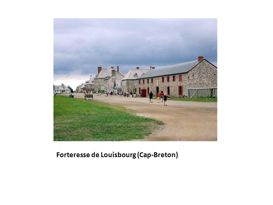 Forteresse de Louisbourg (Cap-Breton)