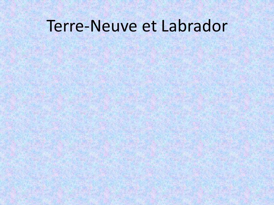 Terre-Neuve et Labrador