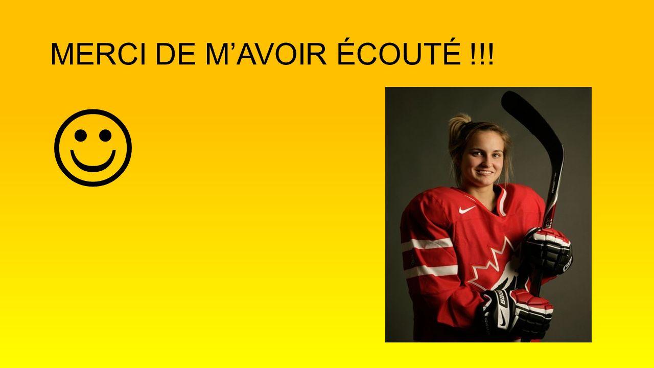 MERCI DE MAVOIR ÉCOUTÉ !!!