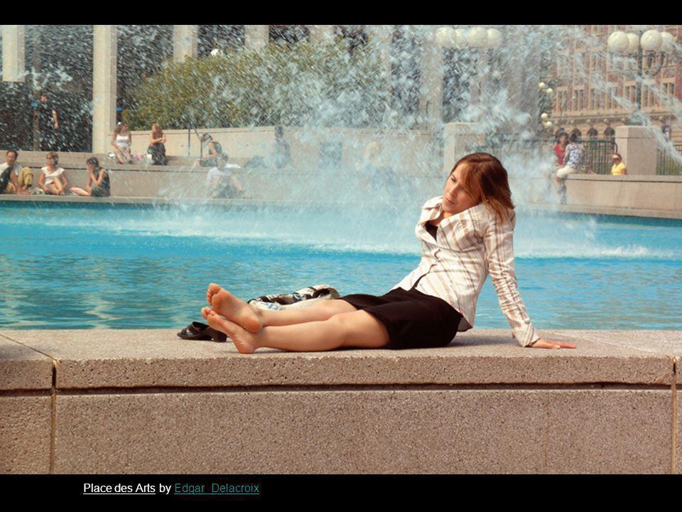 Place des Arts by Edgar_DelacroixEdgar_Delacroix