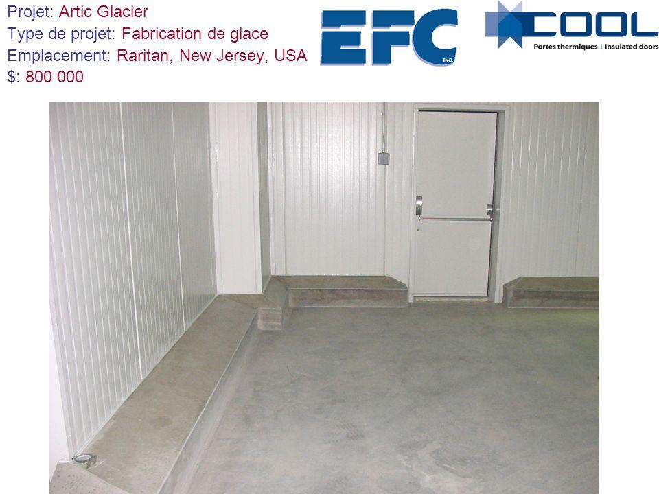 Projet: Artic Glacier Type de projet: Fabrication de glace Emplacement: Raritan, New Jersey, USA $: 800 000